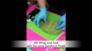 Sandwich Petals - Ultimate Gluten Free Flat Bread In Action