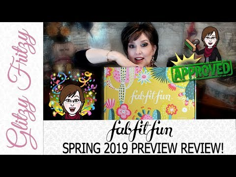 FabFitFun Spring 2019 Reviews
