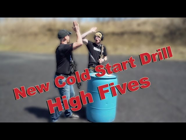 Best Cold Start Drill - High Fives! - Must do on your next range day