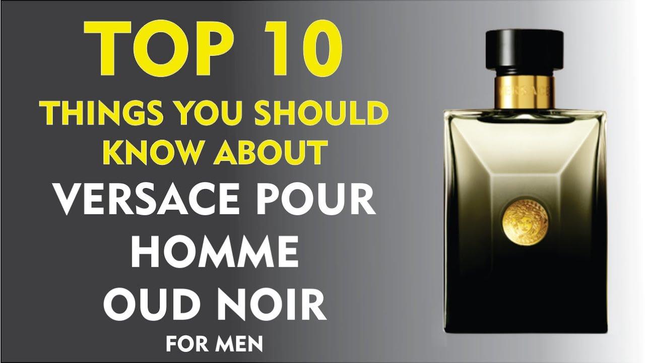 Oud 10 Noir Top Pour AboutVersace Things Homme USqMzVp