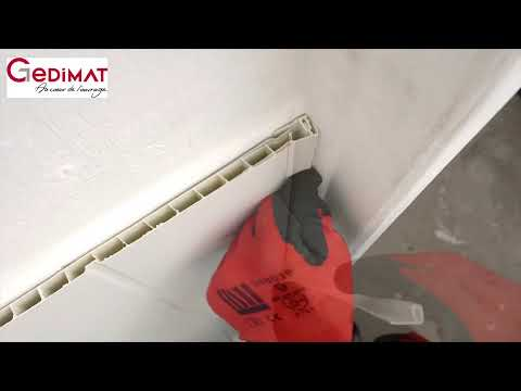 Coller Du Lambris Pvc Gedimat Ma Maison De A à Z Youtube