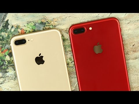 iPhone 7 Plus in New Red Color - Unboxing and Review!