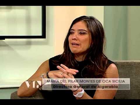 Entrevista con María del Pilar Montes de Oca Sicilia en Galería VIP