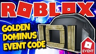 [EREIGNIS?] WIE DIE IOI HELMET GET | *NEUE ROBLOX PROMOCODE!* (Golden Dominus Ready Player One)