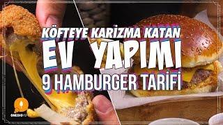 Köfteye Karizma Katan Ev Yapımı 9 Hamburger Tarifi - Pratik Yemek Tarifleri