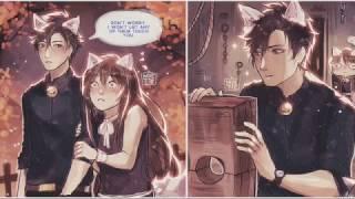 mystic messenger comic dubs   halloween edition