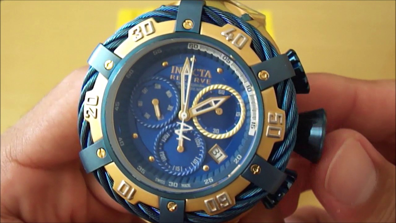 df6d52f7e1d Review - Invicta Thunderbolt 21361 - Luxurious Desire - YouTube