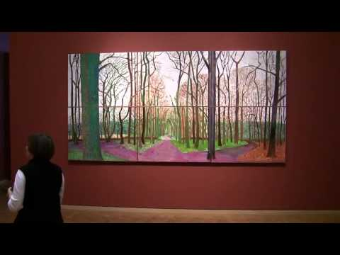 David Hockney   A bigger picture   Ausstellung im Museum Ludwig, Köln pop art landscape paintings