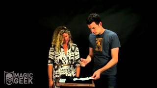 Burn Notice Magic Trick
