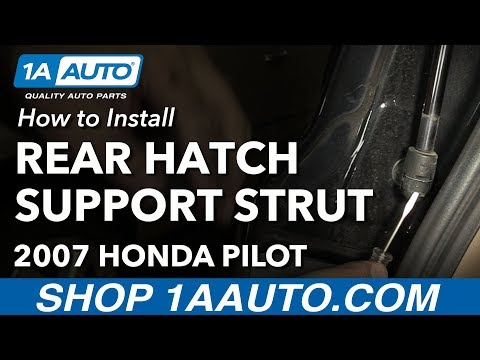 How to Replace Rear Hatch Support Struts 03-08 Honda Pilot