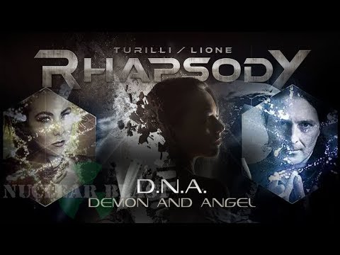 Turilli / Lione RHAPSODY - D.N.A. [Demon and Angel] Featuring ELIZE RYD (OFFICIAL LYRIC VIDEO)