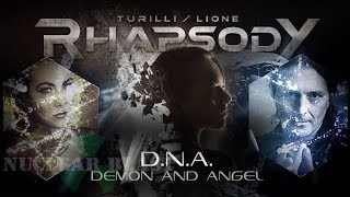 Скачать Turilli Lione RHAPSODY D N A Demon And Angel Featuring ELIZE RYD OFFICIAL LYRIC VIDEO