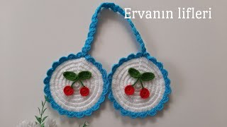 Bu tutacaklar cokk güzel - kiraz tutacak modeli tutacakcesitleri tutacakmodelleri crochet