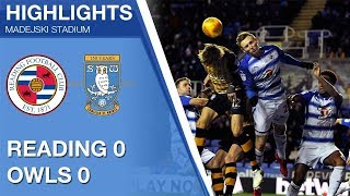 Reading 0 Sheffield Wednesday 0 | Extended highlights | 2017/18