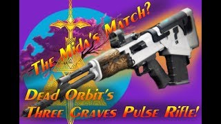 """Mida Multi Tool's Counter: Dead Orbit Pulse Rifle """"Three Graves"""" Gameplay and mini review."""