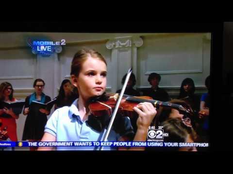 Isabelle Violin Ch 2 Music Institute Chicago Part 1
