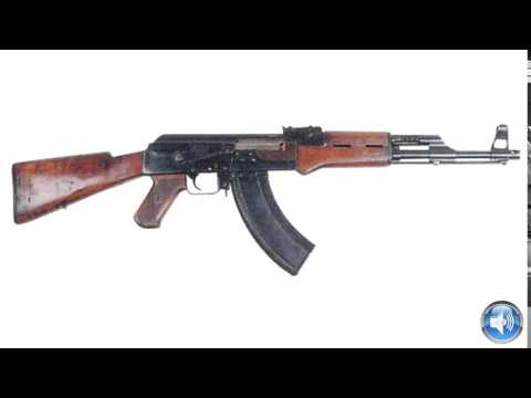 AK 47 Gun Sound Effects !I! Machine Gun Firing Sounds Effects One Shot