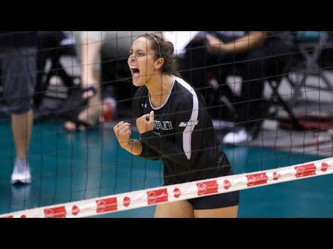 Rainbow Wahine Volleyball 2017 - Hawaii Vs Baylor