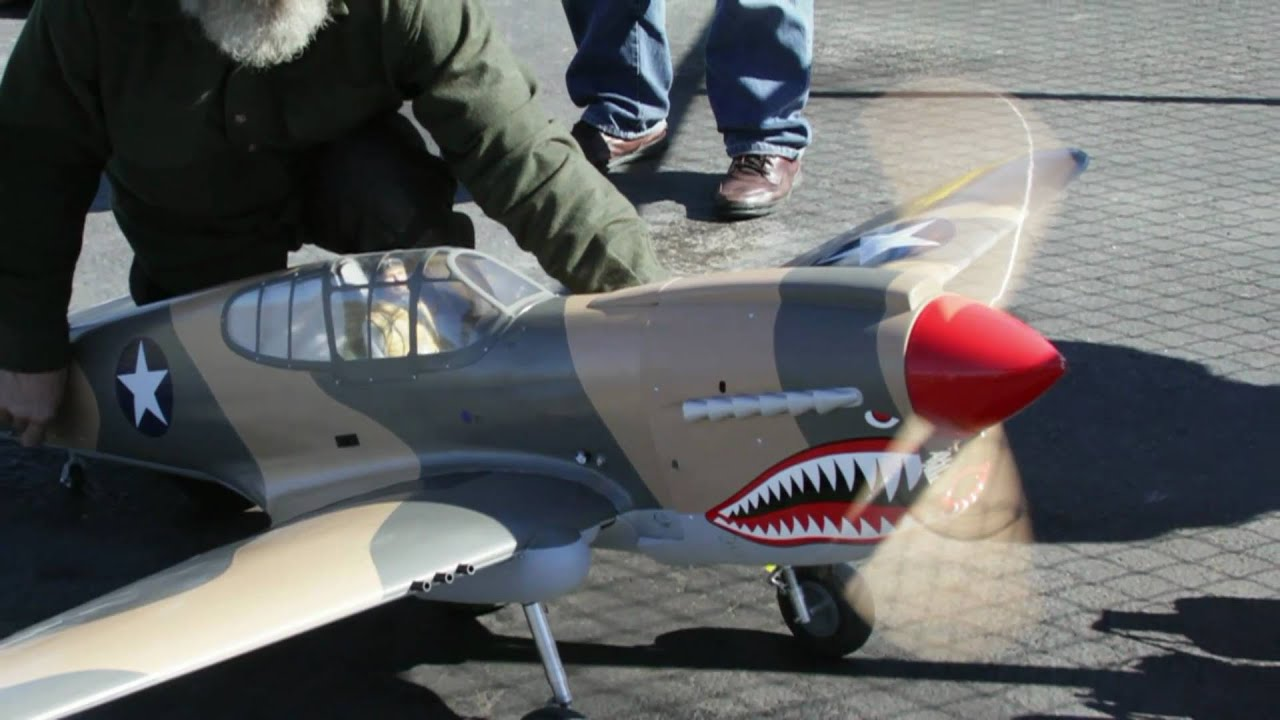 Daves Giant Scale P 40 Warhawk