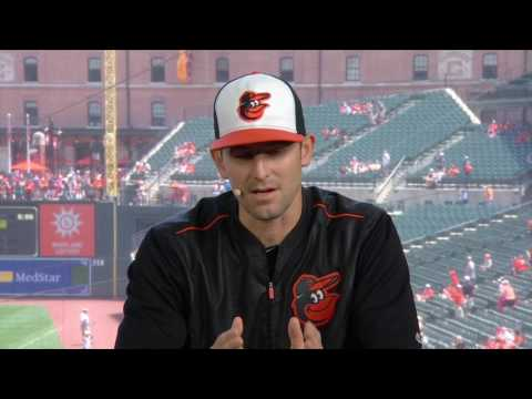 Darren O'Day says he's itching to get back to the field