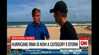 Hurricane Irma now  a Category 5 again as Florida faces largest mass migration to escape