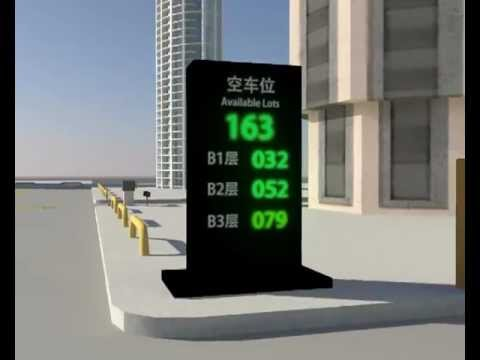 Intelligent Car Parking System From Bv Led Jessica Mpg