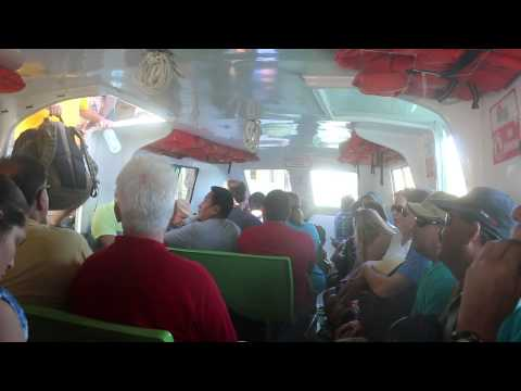 Water Taxi from Caye Caulker to Belize City