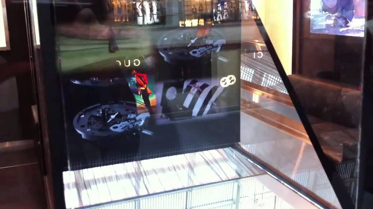 Hublot One Way Mirror Display Box Youtube .