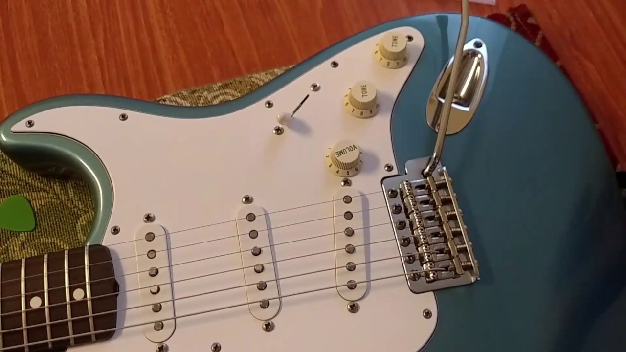 Fix loose and floppy Tremolo Arm on a Fender Stratocaster