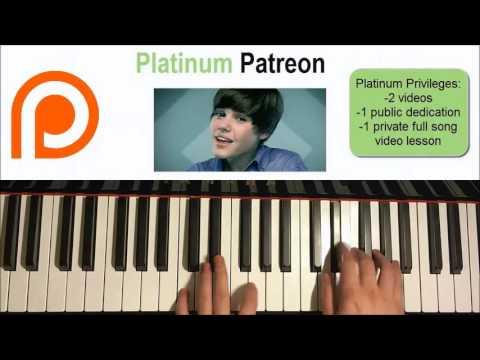 Justin Bieber - Baby  | Patreon Dedication #53 (Piano Cover)