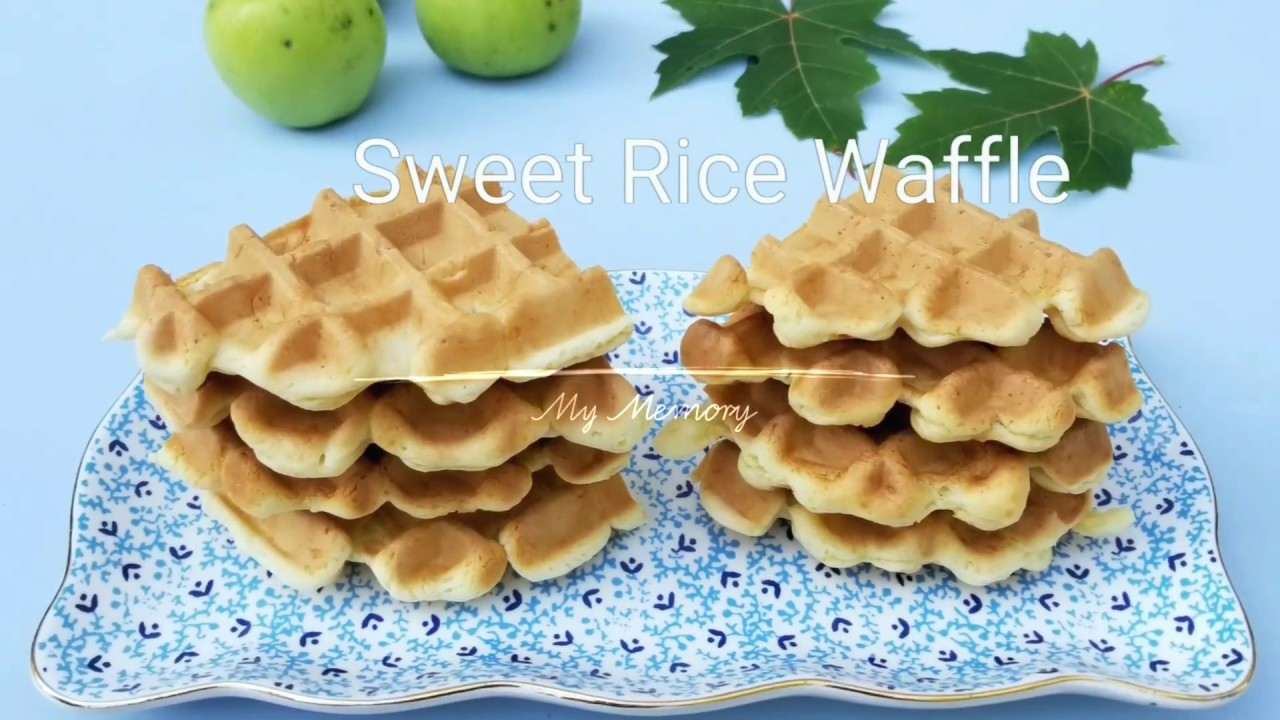 How to make glutinous rice flour waffle recipe using george foreman how to make glutinous rice flour waffle recipe using george foreman 4 in 1 evolve grill system ccuart Images