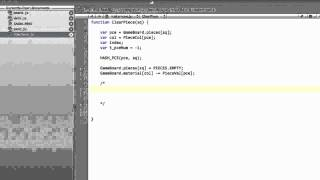 Programming A Chess Engine In Pure Javascript Part 32 - Make Move #2 - Clear Piece