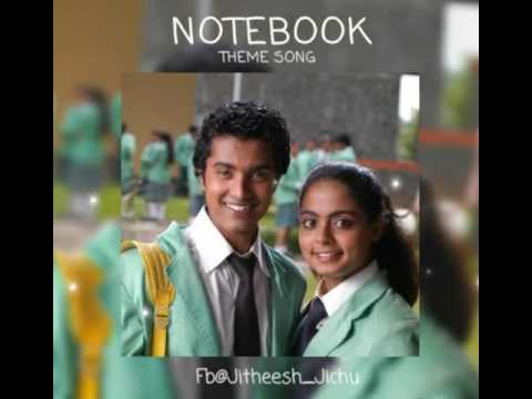 Notebook Theme | Piano Version | Malayalam Bgm