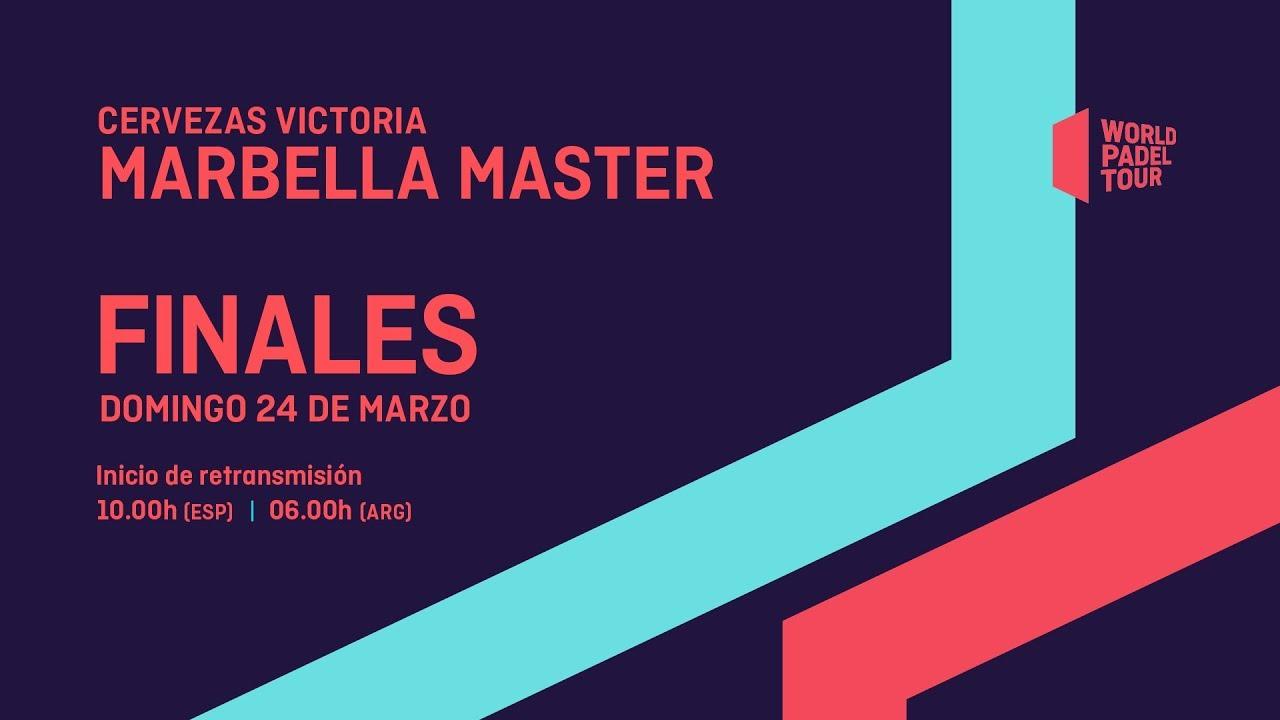 Sigue Este Domingo En Gol Las Finales Del Cervezas Victoria Marbella Master World Padel Tour