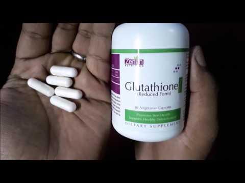 Glutathione Capsules क्या चहरे   को बेदाग गोरा बनाता है ? Full Review in Hindi