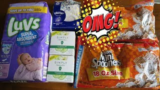 .97 LUV diapers and MORE cheapies at WALMART!!!