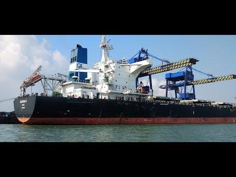 Krishnapatnam Port Freight Shipping,Cargo | Big Cargo Ship Coming to Col Bertha