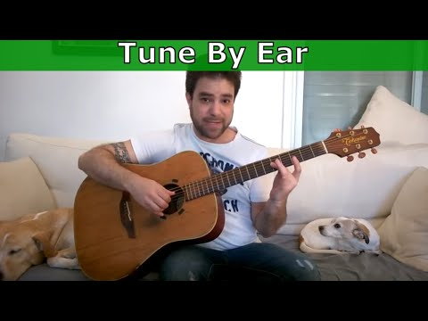 Tutorial How To Tune Guitar Perfectly By Ear Not By