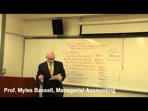 1 Managerial Accounting Basics - 1 Cost Classifications