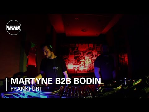 Electronic: Martyne b2b Bodin Boiler Room Frankfurt DJ Set
