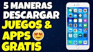 Descargar Apps De Pago GRATIS (No Jailbreak) - 5 MANERAS para iPhone/iPod/ iPad | 2018