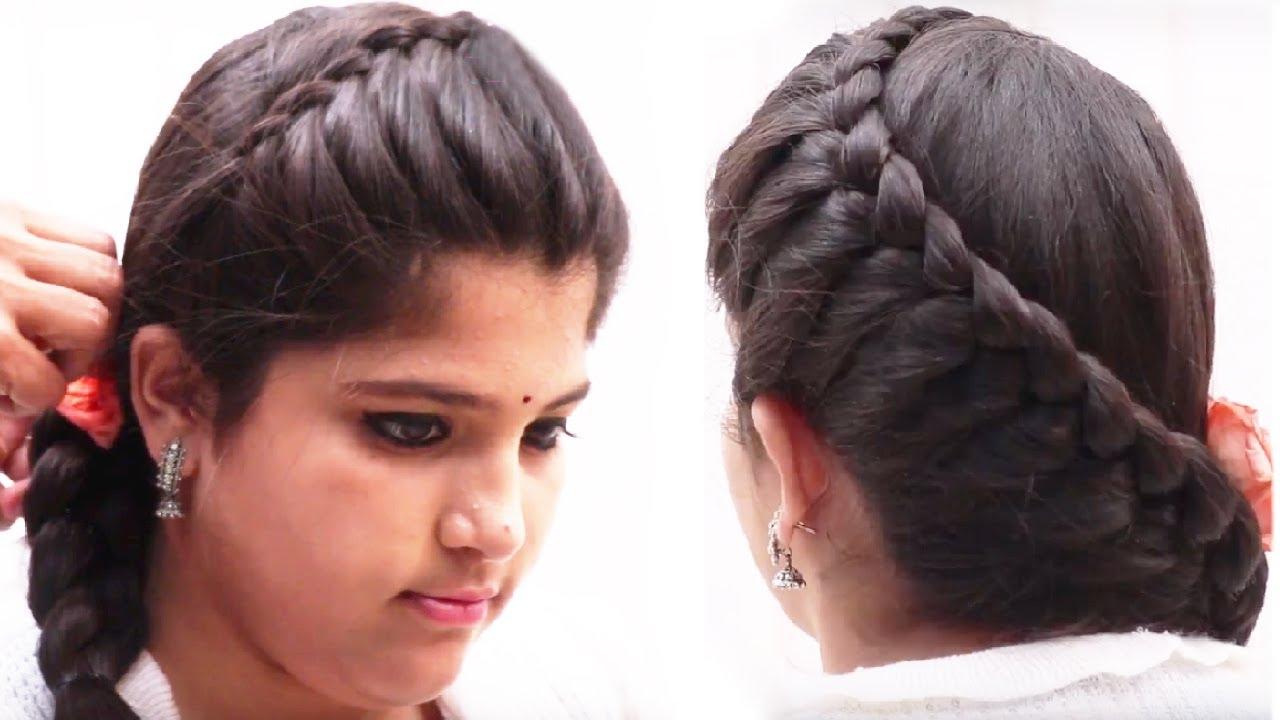 easy hair style for long hair   hair style for girls   hair style tutorials