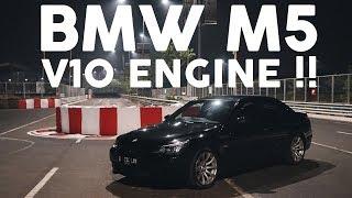 ONE LAP at  BSD GP With BMW M5 E60 (V10 Engine) - #CARVLOG INDONESIA