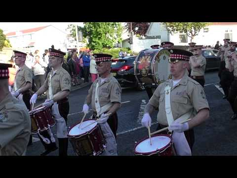 Black Skull Corps of Fife & Drum - Larkhall Band Parade 2015