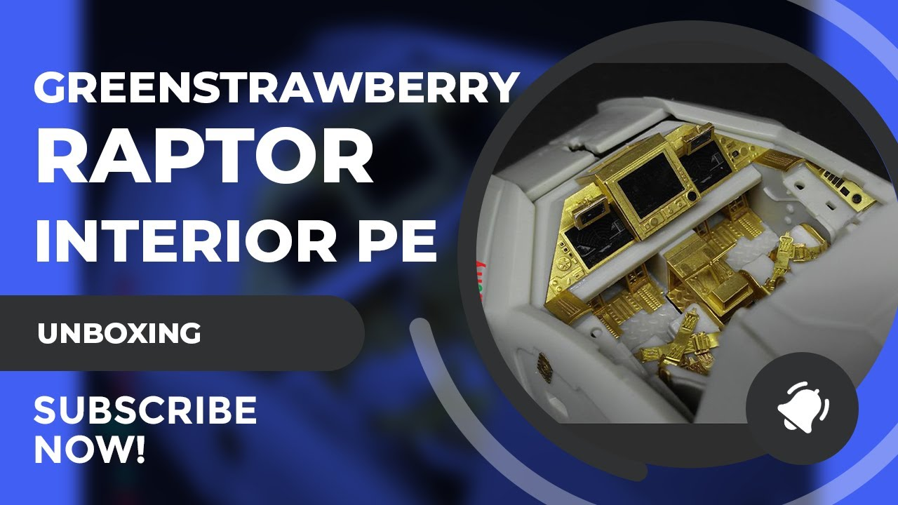 Greenstrawberry Colonial Raptor Interior PE Set Review