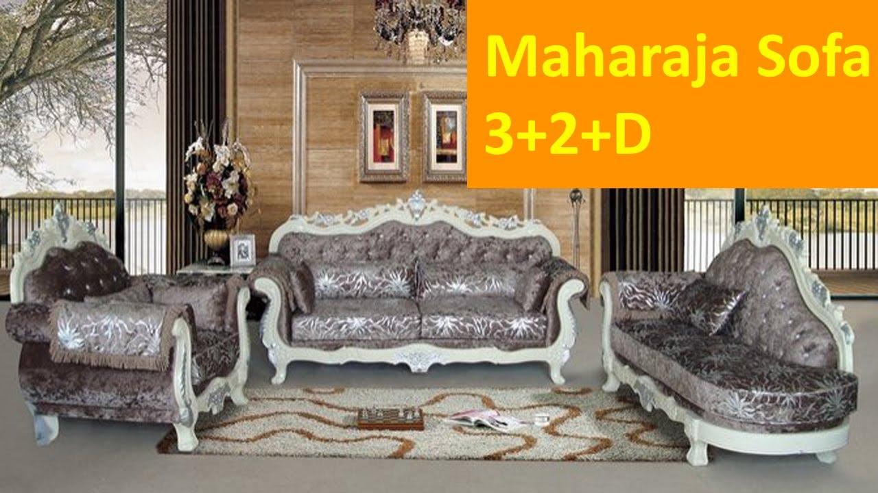 Latest Wooden Maharaja Sofa 3 2 D Kreft Furniture Cheeryal