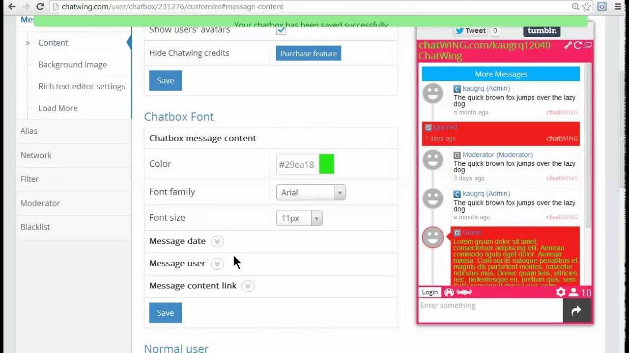 Free chat room app