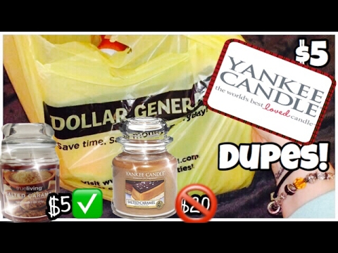 $5 YANKEE CANDLE DUPES?! 2017 • fabb TV