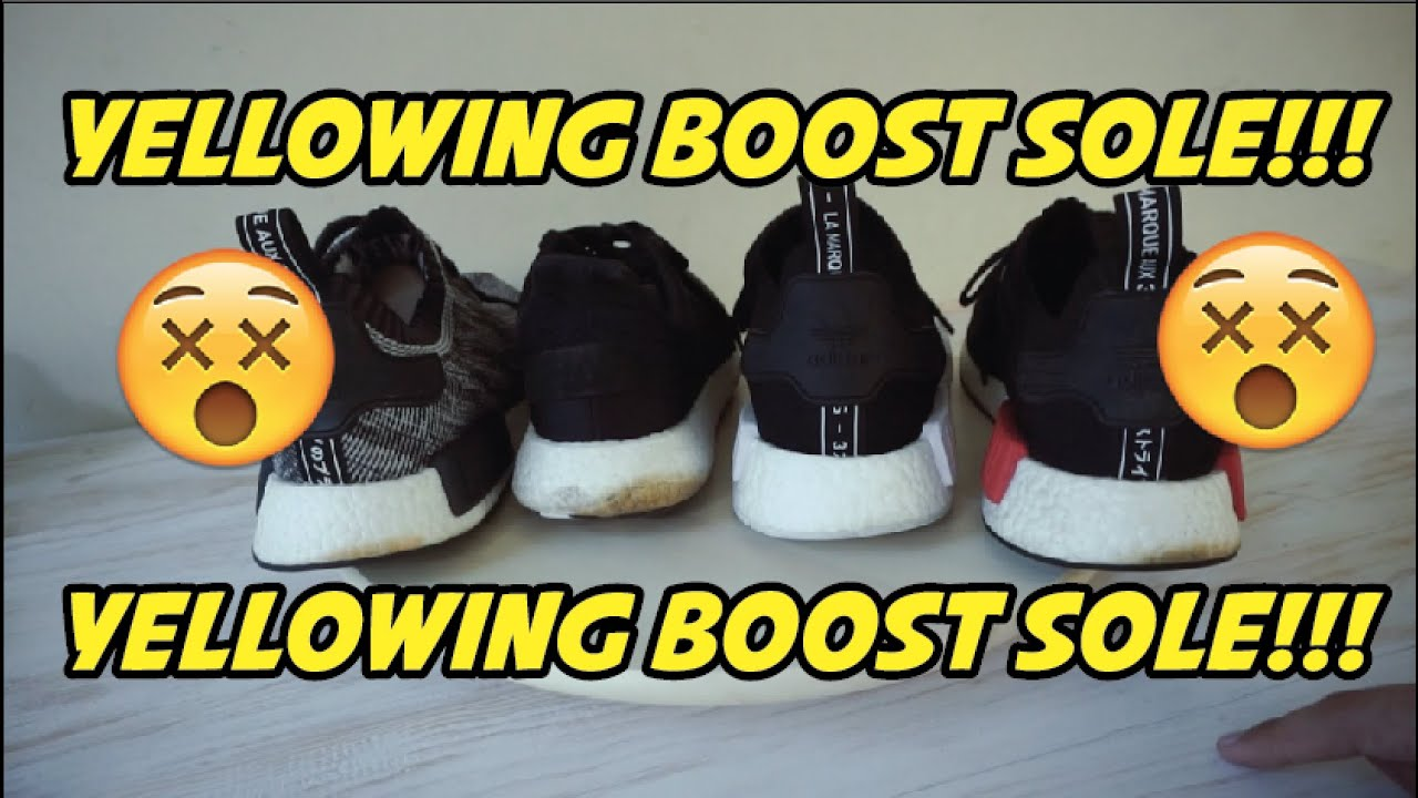 Adidas Boost Problem (Yellowing Boost