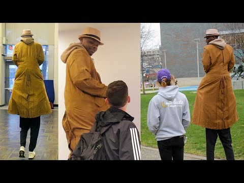"""""""Tall Man"""" Disguise in Public (PRANK)"""